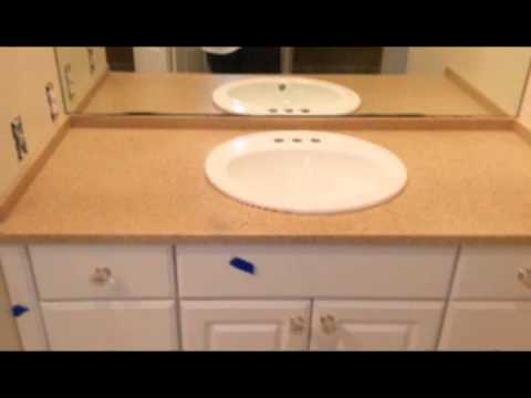 Drop In Sink Conversion