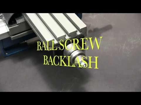 Taig Ball Screw Backlash