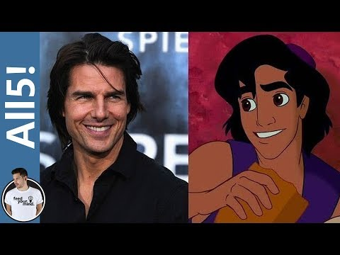Thumbnail: 5 Cartoon Characters Based On Real People!