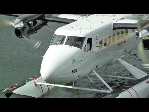 Twin Otter Engine Start Up and Takeoff