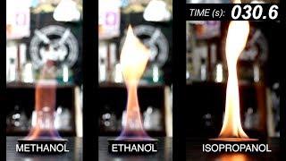 Alcohol Comparison - Methanol vs Ethanol vs Isopropanol