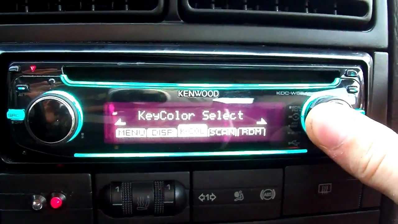 Инструкция магнитолы kenwood kdc w6141u