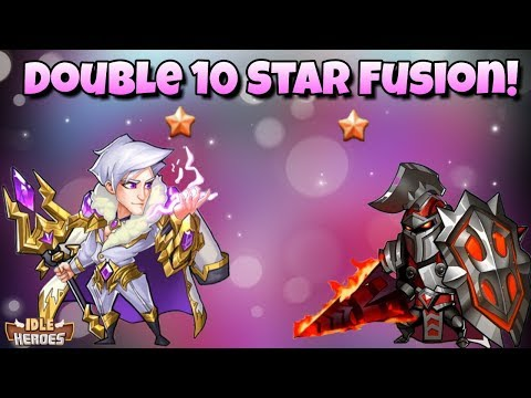 Idle Heroes (S) - Double 10 Star Fusion! Valentino + Sigmund 10 Starrer - Terrible Disaster!