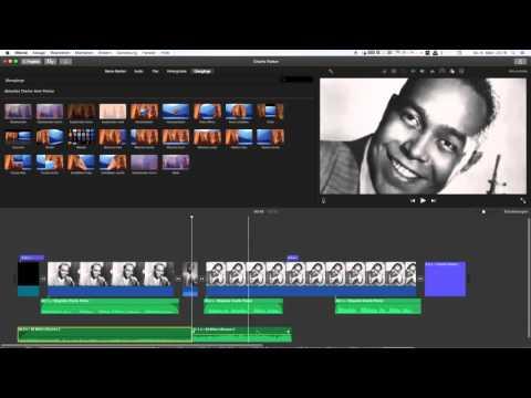 3 iMovie Audiospuren bearbeiten