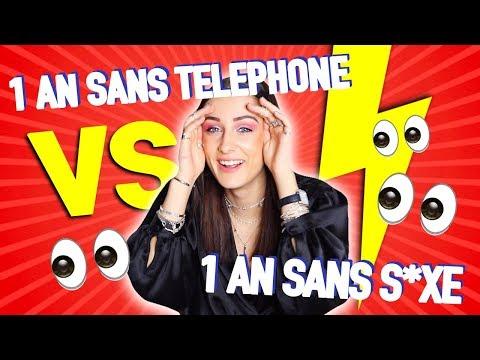 1 AN SANS S*XE OU 1 AN SANS TÉLÉPHONE ?