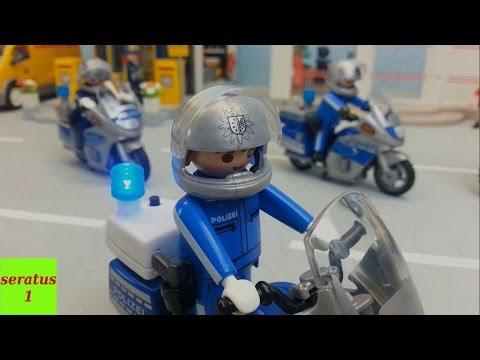Video Sammlung mit Playmobil Polizei Einsätzen seratus1 Kommandozentrale