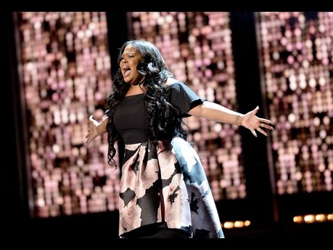 "Amber Riley Olivier Awards Performance ""And I Am Telling You"" and Award with win speech"