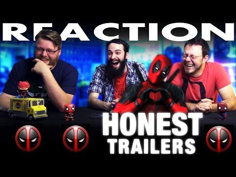Deadpool Honest Trailer REACTION!!