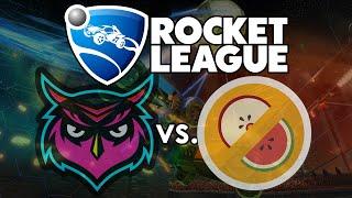 Rocket League: Datto & Math Class vs. Mr. Fruit & The Dream Team