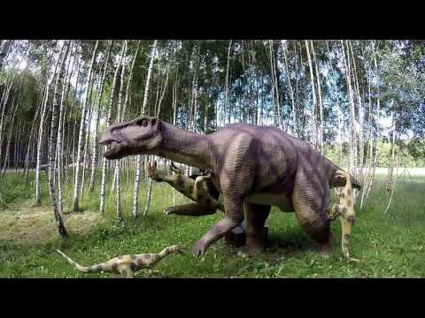 Dino Park in Lithuania (Dinozaurų parkas RADAILIAI)