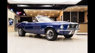 1968 Ford Mustang Convertible …