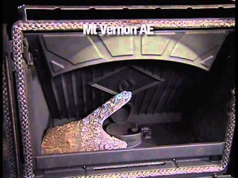 Quadra Fire Mt Vernon Ae Pellet Stove Log Placement Video