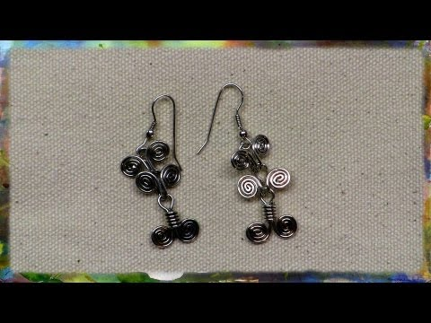 How To Make Beautiful Egyptian Link Earrings by Ross Barbera