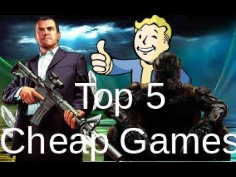 Top 5 Cheap PC Games