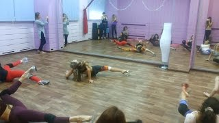Стрип-пластика! OKSANA SHINE! Мастер- класс/Новосибирск