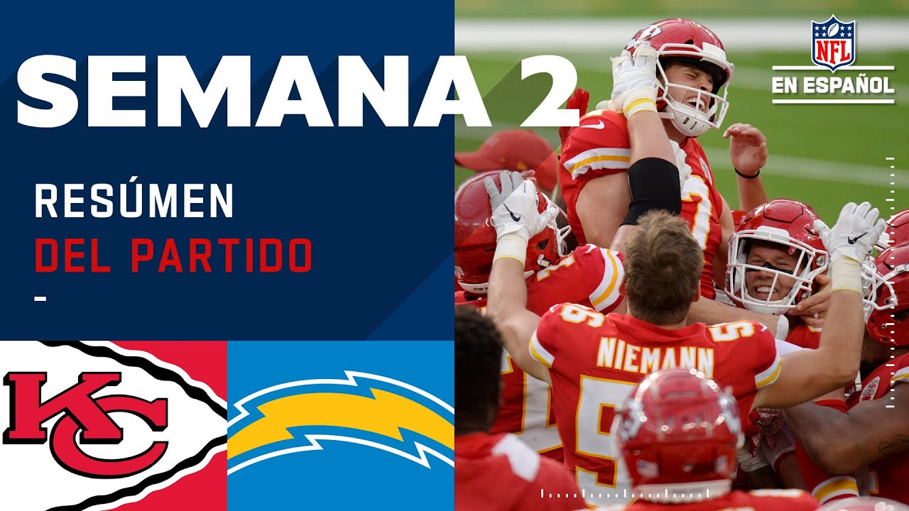 Tremenda remontada de la mano de Mahomes  | Highlights @Kansas City Chiefs @Los Angeles Chargers