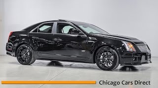Chicago Cars Direct Reviews Presents a 2012 Cadillac CTS-V Sedan Supercharged - 0131968