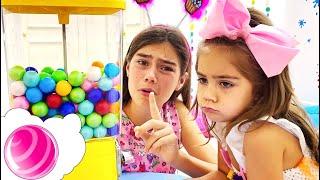 Настя и история про Автомат с конфетами