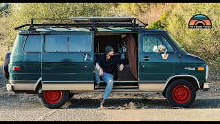 Stealth Budget DIY Camper Van Walkthrough - $5.5k Total Tiny House Cost