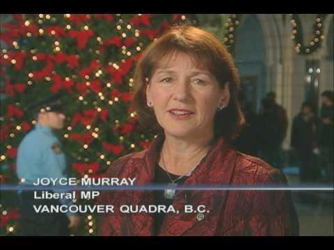 Season's Greetings from Joyce Murray, MP