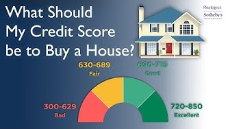 What Should My Credit Score be to Buy a House?
