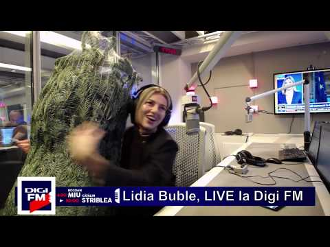 Lidia Buble, LIVE la Digi FM