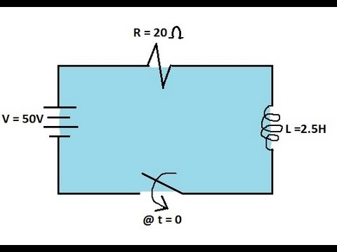 Physics - Inductance (4 of 8) The R-L Circuit