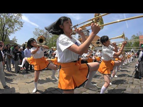 Blumen Hügel Parade2016 - Sing Sing Sing - Kyoto Tachibana SHS Band