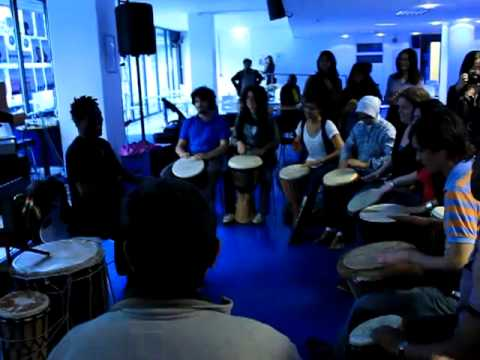 London African Drumming @ The Institute of Education 24-05-2011 1of2
