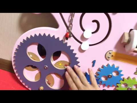 Бизиборд Большая карета Принцессы, Kidsori, Premium, 90*75 см