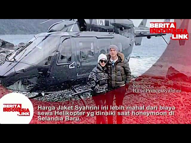 Harga Jaket Syahrini ini lebih mahal dari biaya sewa Helikopter yg dinaiki saat di Selandia Baru