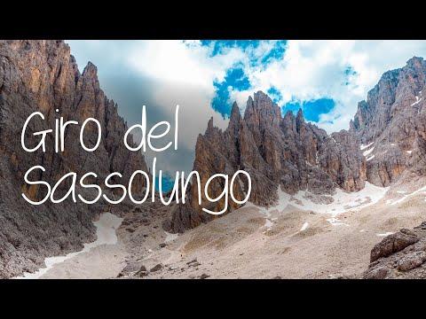 Giro del Sassolungo tra la Val Gardena e la Val di Fassa #valdifassa #valgardena #trentinodascoprire