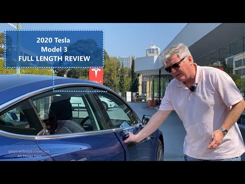 Tesla Model 3 Review Full Length Review GayCarBoys