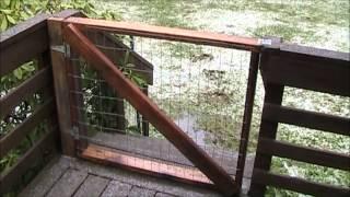 Building Deck Gates