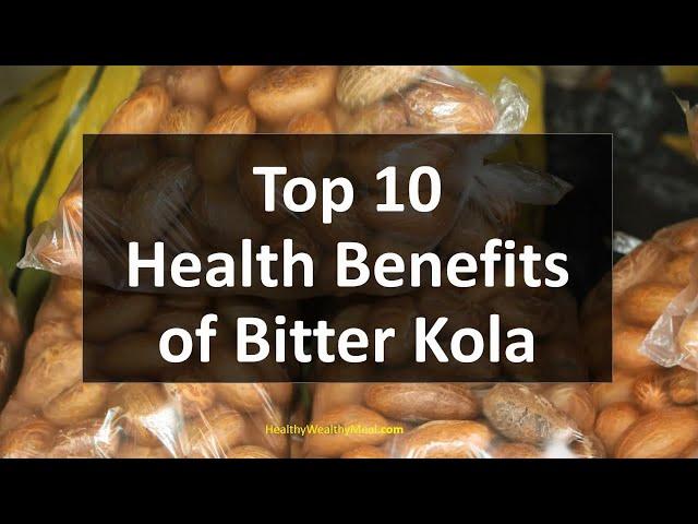 Health Benefits of Bitter Kola and Honey ▷ YEN COM GH