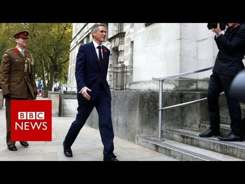 Gavin Williamson replaces Michael Fallon as UK's defence secretary - BBC News