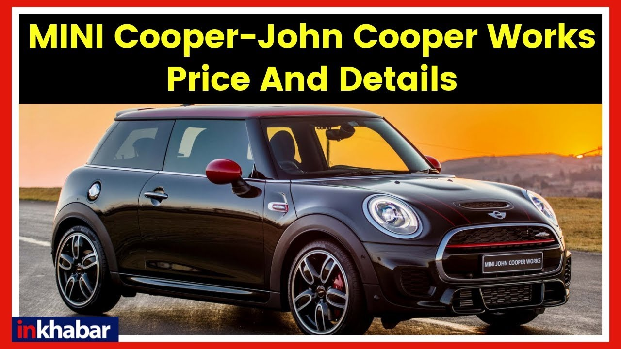 Mini Cooper Car 2019 Launch Price In India Review Specifications