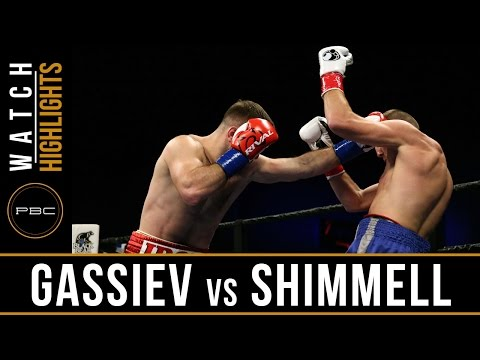 Gassiev vs Shimmell HIGHLIGHTS: May 17, 2016 - PBC on FS1