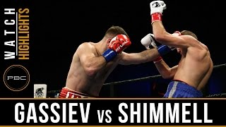 Gassiev vs Shimmell HIGHLIGHTS: May 17, 2016 - PBC on FS1