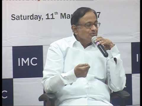 Shri P. Chidambaram, Member of Parliament & Former Union Finance and Home Minister of India