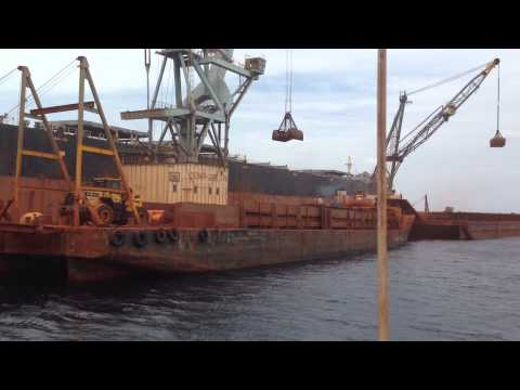 Offshore Bauxite loading at Cabo Rojo 1