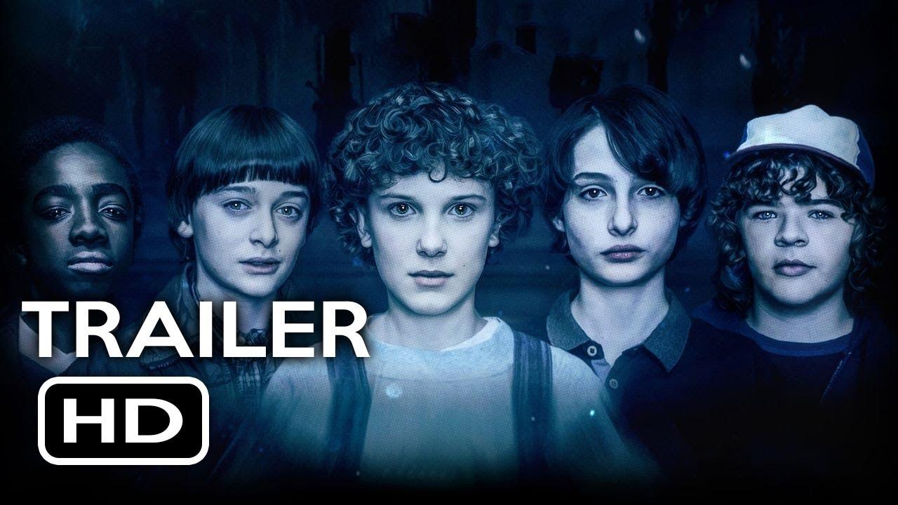 stranger things season 3 teaser trailer  2019  netflix sci