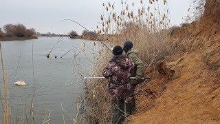 СХВАТКА С РЕЧНЫМ МОНСТРОМ. Рыбалка в Астрахани в декабре. СУПЕР БОНУС!