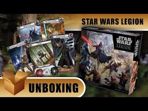 Unboxing: Star Wars Legion Core Box Set