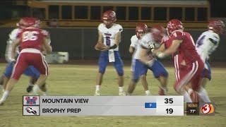 Mountain View High School vs Brophy Prep High School playoff highlights, November 8, 2019