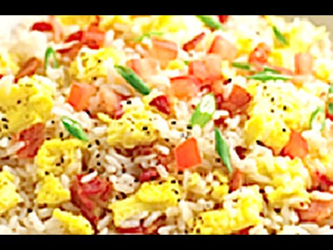 HOW TO MAKE BACON AND EGG FRIED RICE Greg's Kitchen