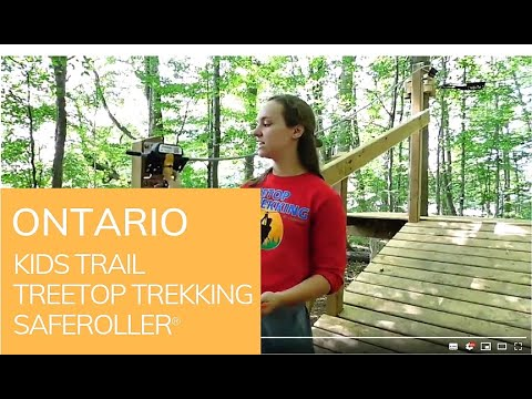 TreeTop Trekking Ontario: Saferoller Kids Trail
