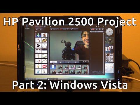HP Pavilion 2500 Project - Part 2 (Windows Vista)