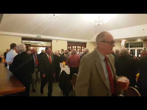 Watch the top table guests arrive at the Welsh Charitables RFC dinner for Jim Mills in Cwmbran
