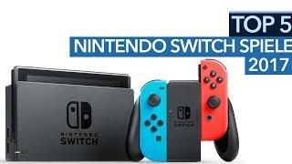 Top 5 Switch-Spiele 2017 - Die besten Nintendo Switch-Titel des Jahres (Gameplay)